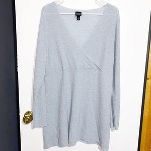 Eileen Fisher 100% Wool Tunic Sweater